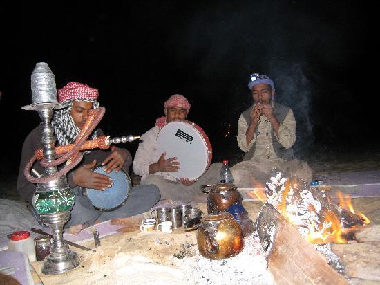 White Desert: Rythme bédouin