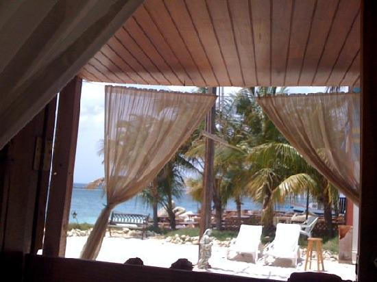 Coral Reef Beach Apartments: View from our room