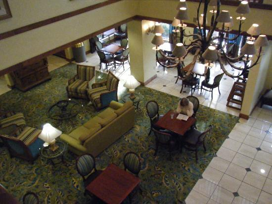 Hampton Inn Jacksonville/Ponte Vedra Beach-Mayo Clinic Area: Pleasant spacious lobby