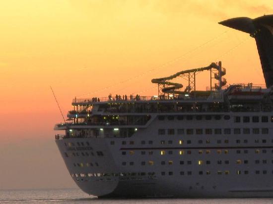 Hotel Posada Edem: Crucero al atardecer