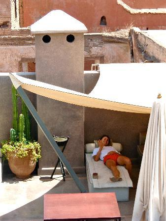 Riad Dar One: Terrace- Day