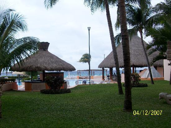 El Cozumeleno Beach Resort: View from Room
