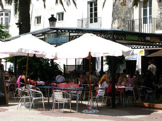 Foto de restaurante la pescaderia tarifa la terraza en el alameda tripadvisor - Restaurante el puerto tarifa ...