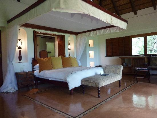 Chobe National Park, Botswana: My room