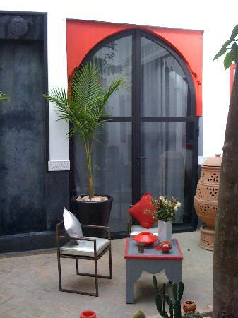 Riad Alegria: patio