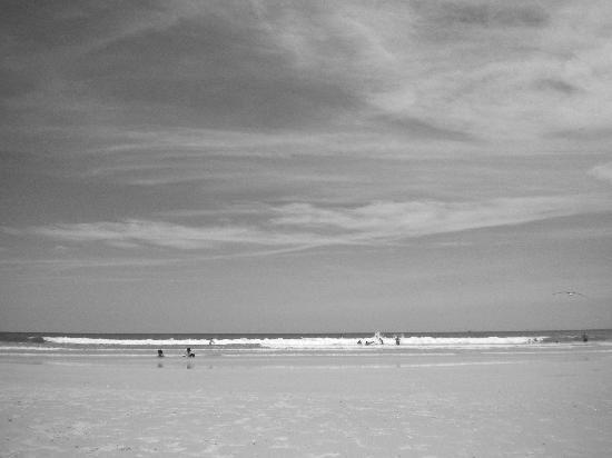 St Augustine Island Inn: Beach