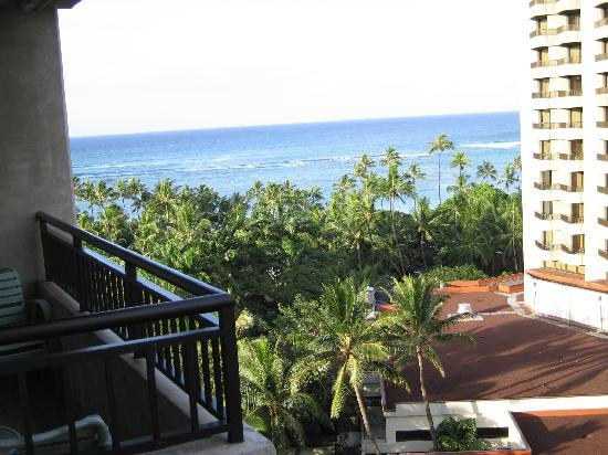 View from balcony of garden room picture of hale koa for Garden room reviews