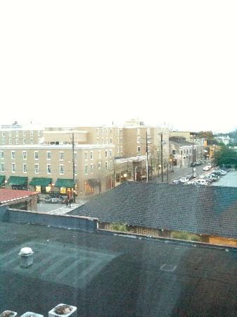 French Quarter Inn: View of Market from Room