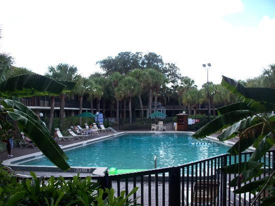 Ramada Kissimmee Gateway: the pool