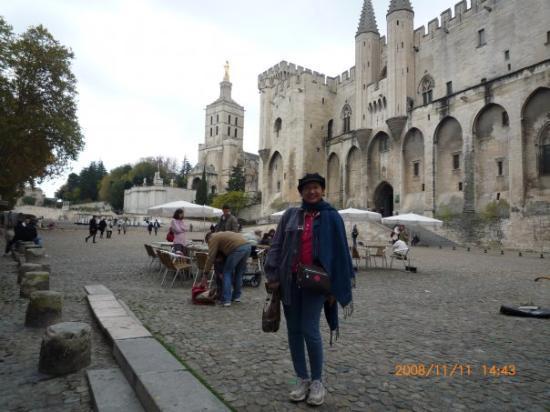 Palace of the Popes, Avignon, France, Nov'08