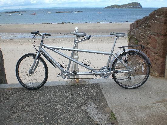 2 Wheel Tours-Day Tours: Our tandem bicycle - available for hire