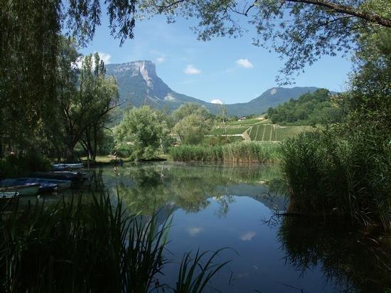 Chambery, Frankrike: Lac de Saint André (Savoie)