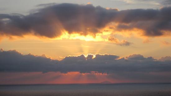 St. John's, Antigua: Pre sunset over Shirley's Heights