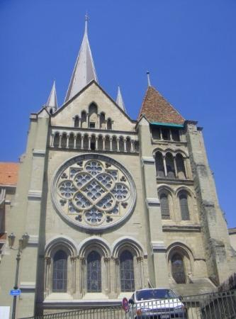 Lausanne, Sveits: Laussane Old City