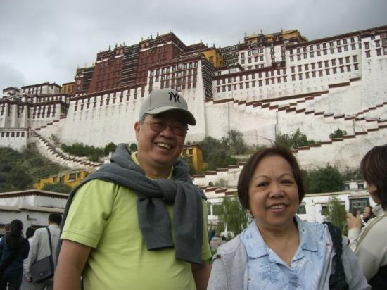 Lhasa, Kina: Potala Palace