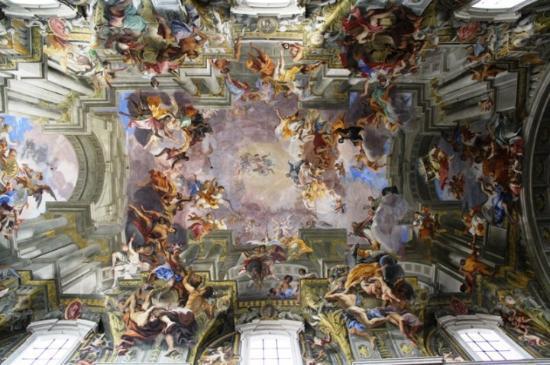 Le Chiese di S. Ignazio e di S. Andrea della Valle - il Barocco