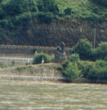Bingen am Rhein, Tyskland: Lorlei - am rhein 1998