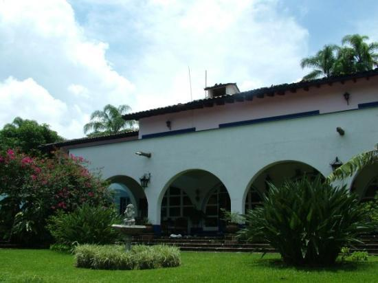 Veracruz, Mexico: the blue house