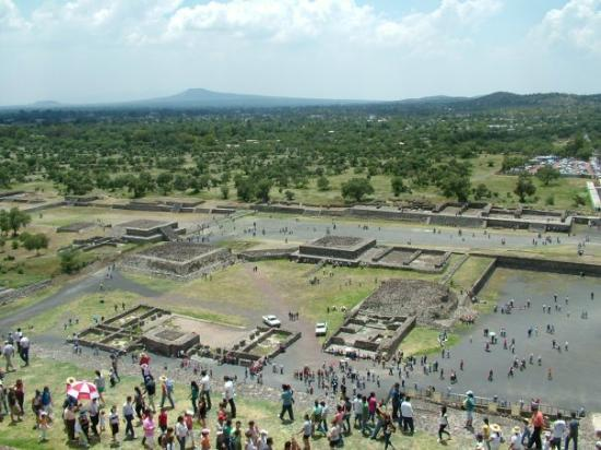 San Juan Teotihuacan, Mexico: almost the top