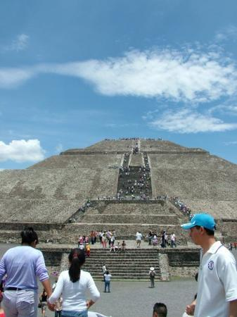 San Juan Teotihuacan, Mexique : we did go there
