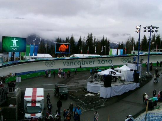 Whistler, Canada: Gold medal run