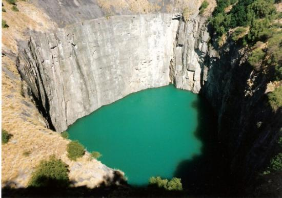 Big Hole, De Beers Diamond Mine.Kimberley. SA