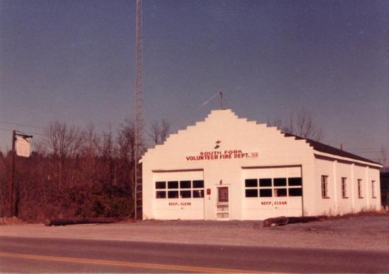 Firestation, Brandywine, WV 1981-1984