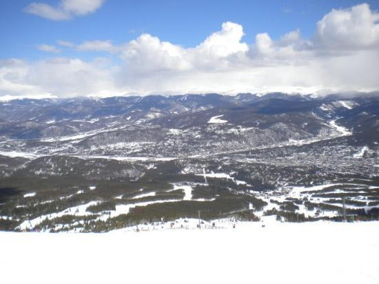 Breckenridge, CO: summit of peak 9 at breck
