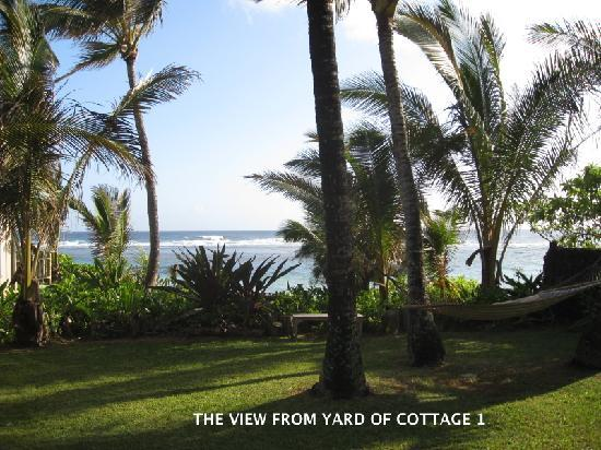 Hale Makai Cottages: View from Cottage 1