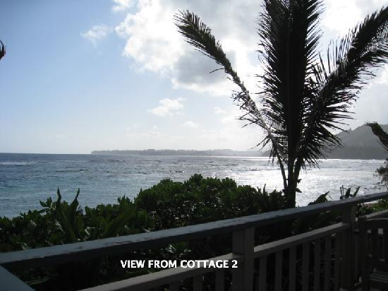 Hale Makai Cottages: View from Cottage 2