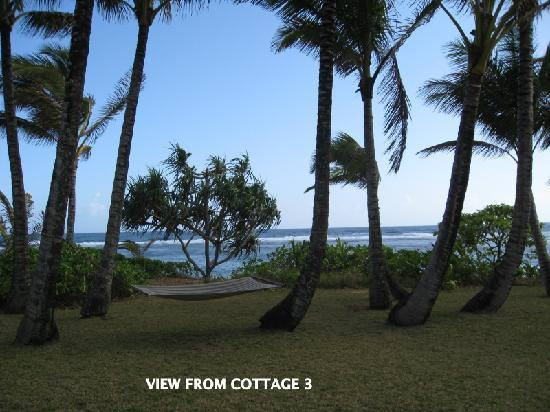 Hale Makai Cottages: View from Cottage 3