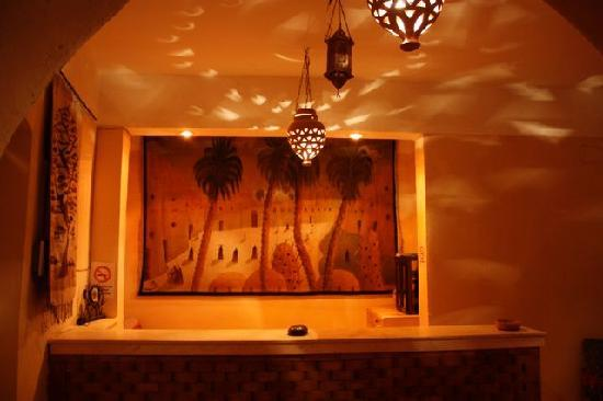 Desert paradise Lodge lobby