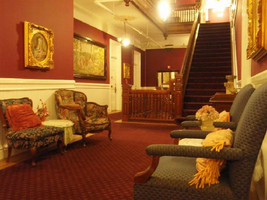 one of the hallways of the Queen Ann hotel  Picture of Queen Anne