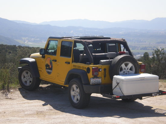 Sunrider Jeep and Wine Tours of Temecula