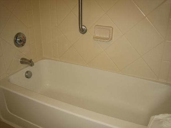 Hampton Inn & Suites Albany Airport: Tub/Shower