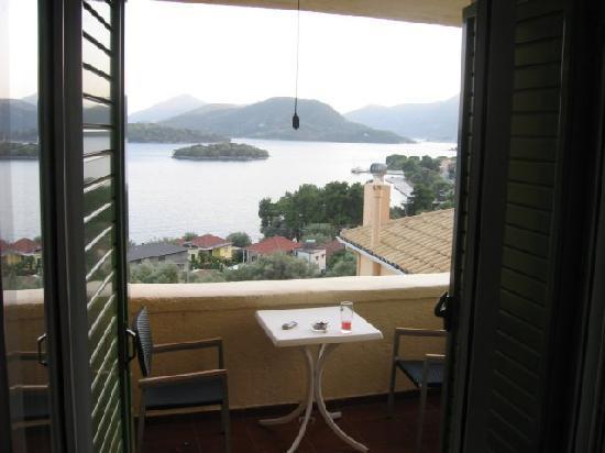 Scorpios Hotel: Balcony
