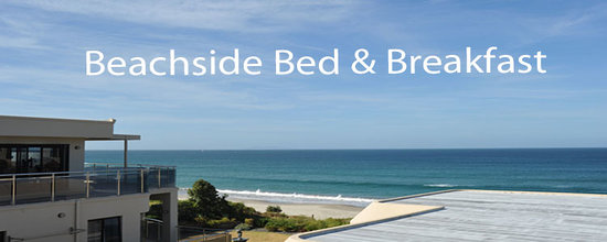 Beachside Bed & Breakfast: View from Guest Lounge