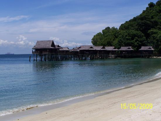 Lumut, Malaysia: view of the sea villas
