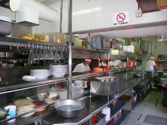 Pancho's: Kitchen at Panchos