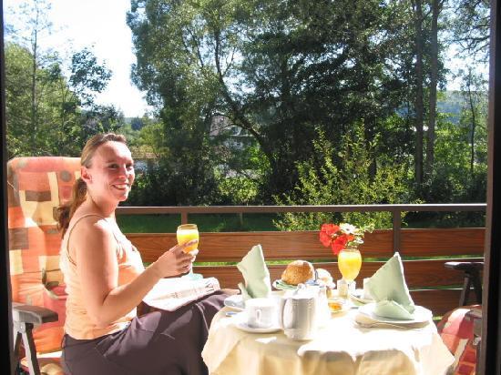 Hotel zur Mühle Bad Brückenau: Alle Doppelzimmer mit Balkon