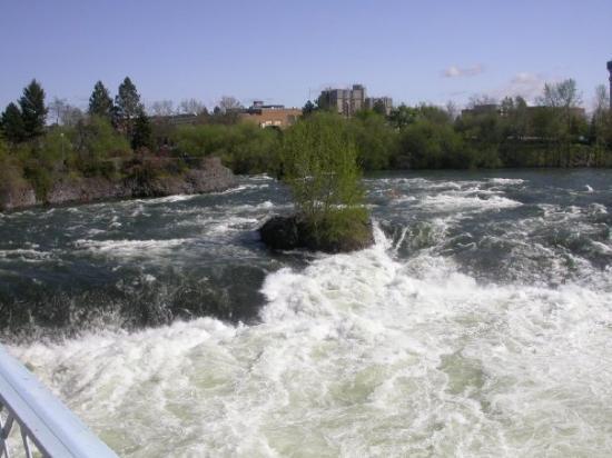 Spokane Falls, Spokane, Washington