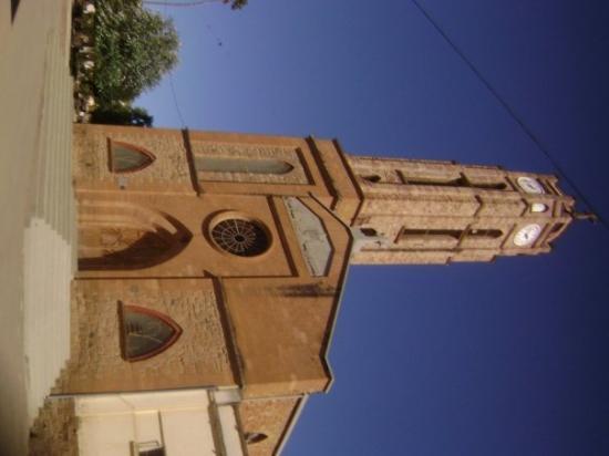Catholic church in the center of Vallegrande