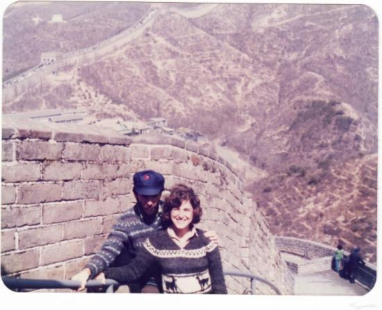 Travel Great Wall: The Great Wall and his Mao hat