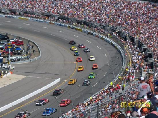 Richmond International Raceway (where Dale, Jr. spun Kurt Busch!!!)