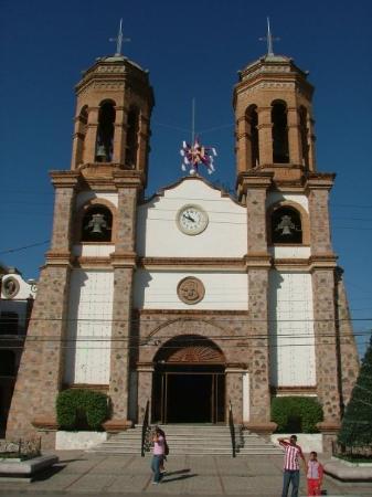 La Iglesia de Nuestra Senora de Guadalupe: One of the many churches in downtown Puerto Vallarta