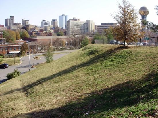 Knoxville, TN: skyline from other side of town