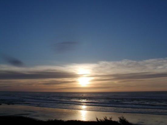 Florence, OR: sunset on Pacific