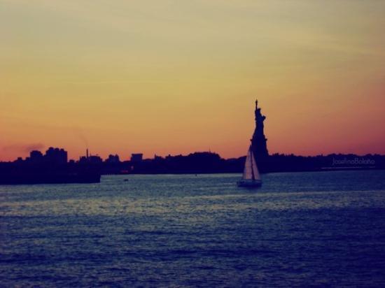 Statue of Liberty: long island. ny