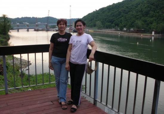 Charleroi, PA: Monongahela  river with Siu lie