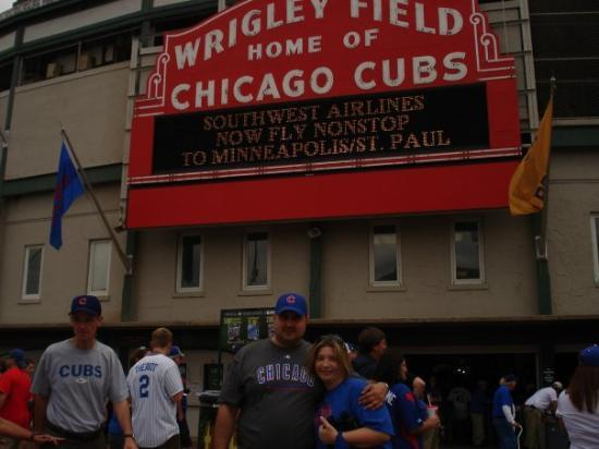 Wrigley Field: Chicago Cubs baby!!!